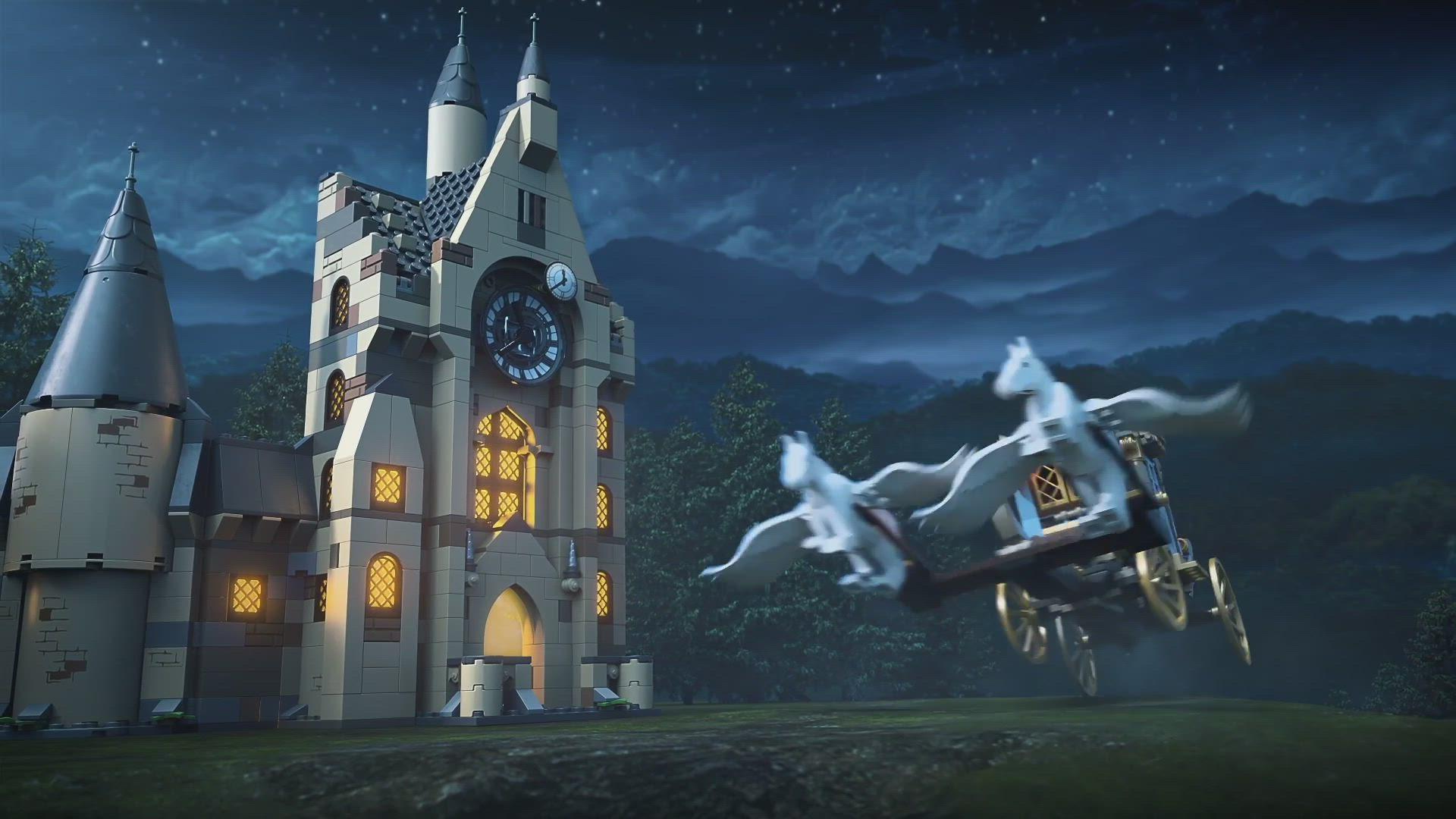 Hogwarts Yule Ball Discover Your Hogwarts Lego Harry Potter Videos Lego Com For Kids Us