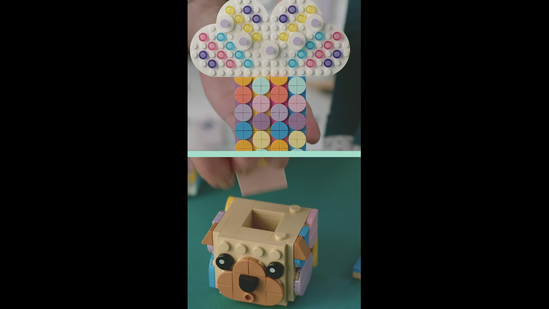 LEGO DOTS Designer How to Homeware 1